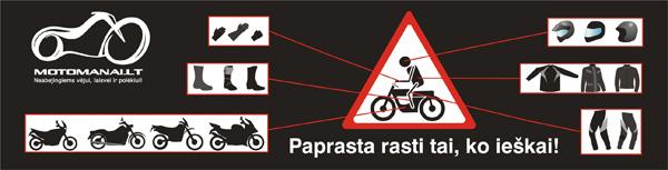 Motoprekių ir motopaslaugų katalogas!