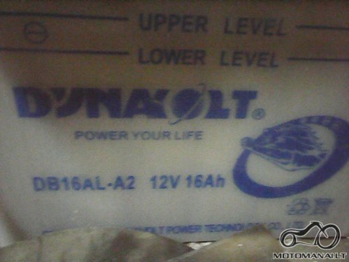 Akumuliatorius Dynabolt