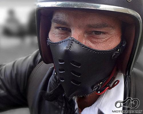 BOKEN FLAT 70 BLACK kaukė  (Universalus)