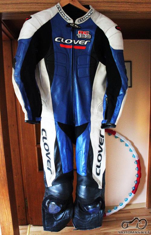 Clover vyriskas moto kostiumas  (50)