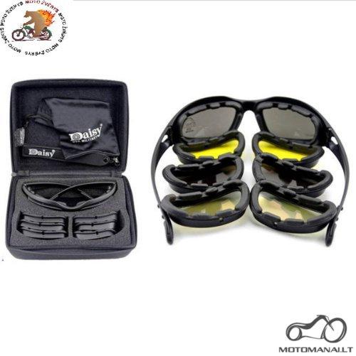 DAISY C5 DAISY C5 Taktiniai akiniai  (Uiversalus)