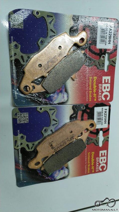 Ebc FA229HH + FA231HH stabžių kaladėlės