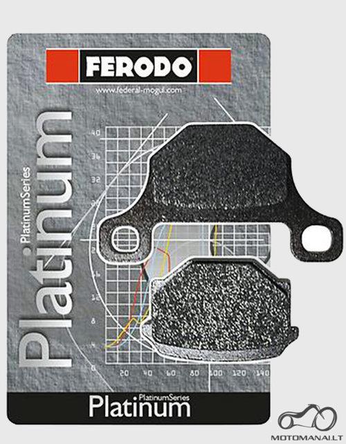 Ferodo'16 Ferodo stabdziu kaladeles