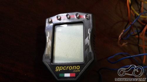 GPCRONO Begiu indikatorius