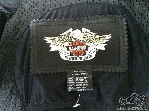Harley-Davidson Harley Davidson Juoda Odinė Striukė L  (L)