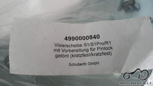 Schuberth S1/S1Pro/R1 Schuberth S1/S1Pro/R1  (Juoda)