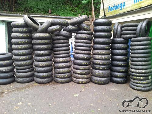 Michelin Motociklu motoroleriu padandos