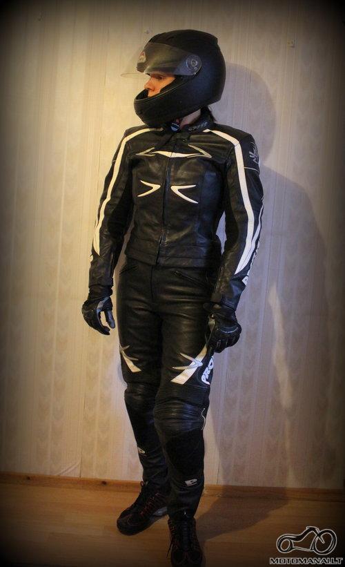 ProBiker Kostiumas + šalmas + pirštinės  (S M)