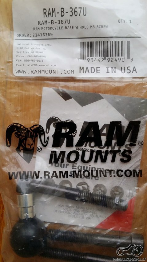 RAM Ram mount RAM-B-367U