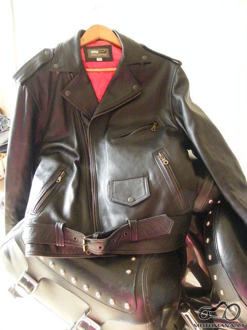 Real Leather vyr.odinė striukė <small>(40 dydis)</small>