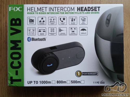 T-COM VB'17 Helmet intercom Headset