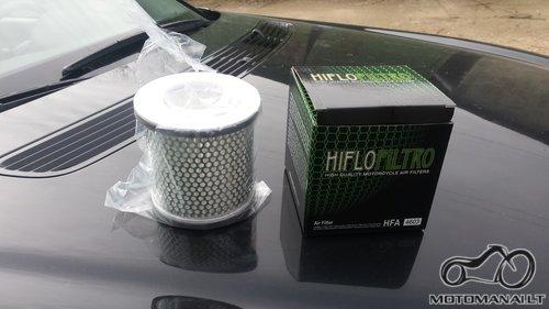 Xj 600 Oro filtras