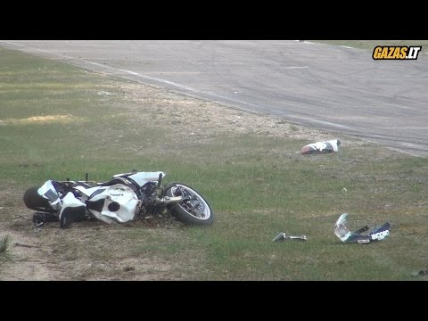 Zigmas Jaunzemnieks big crash in Nemuno Žiedas