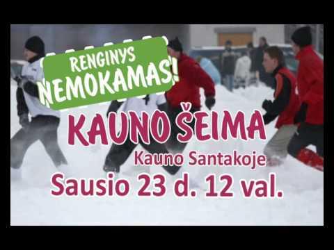 Žiemos šventė - KAUNO ŠEIMA