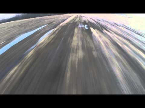 Radviliskis, Husqvarna TE510, YAMAHA DT evening ride.