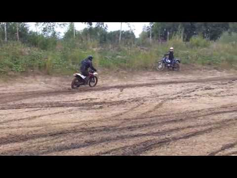 enduro in the `light` mud