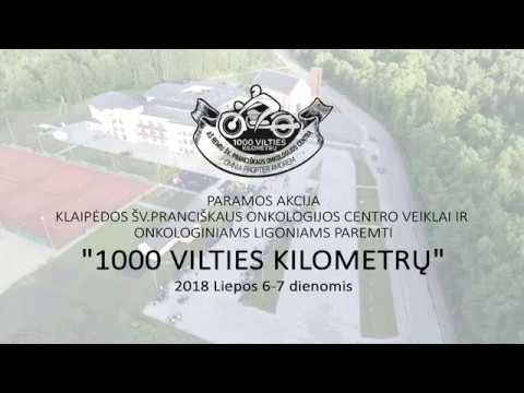 """1000 vilties kilometrų"" 2018m."