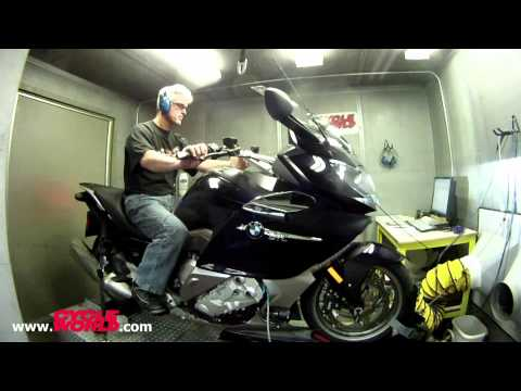 2012 BMW K1600 GTL Dyno Run Performance Test