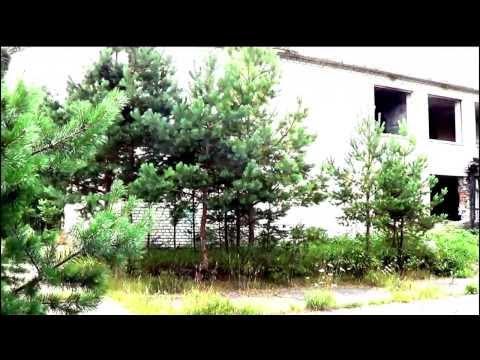 Irbene - заброшенный военный городок времен СССР в Латвии