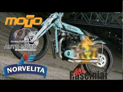 Rising Thunder custom bike show reklama