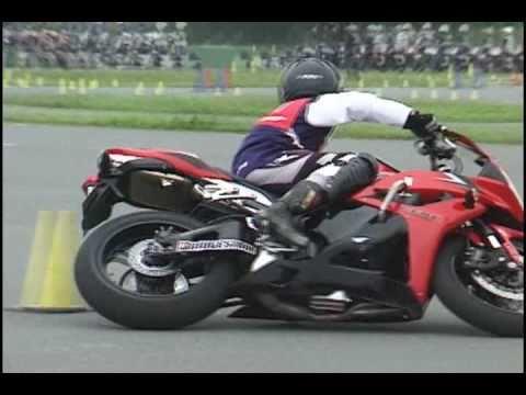 2010 10 24 ダンロップ ジムカーナ 第5戦 志賀選手 第2ヒート