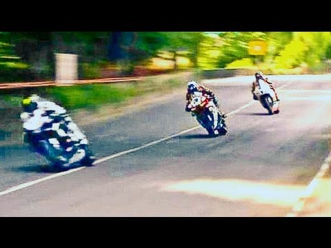 The Spectacular T.T. (Crashes)(2of 4) IOM. TT (Isle of Man) Motorcycle Road Race