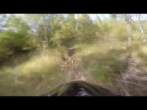 Husqvarna te 510 run in Zokniai enduro track