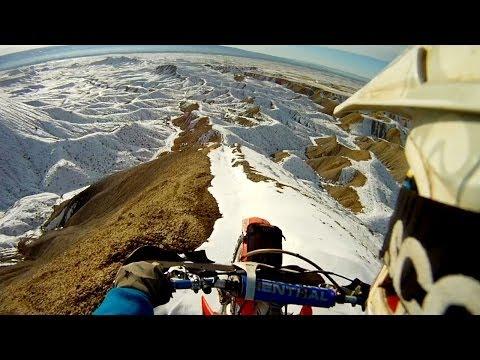 GoPro: Moto Snowy Ridgeline