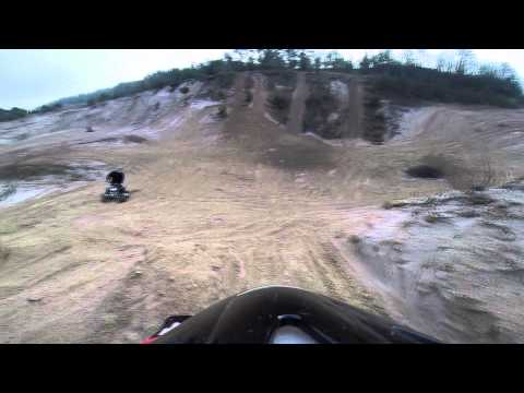 swolou KTM EXC 520 run in Stalmokai 2014 11 09