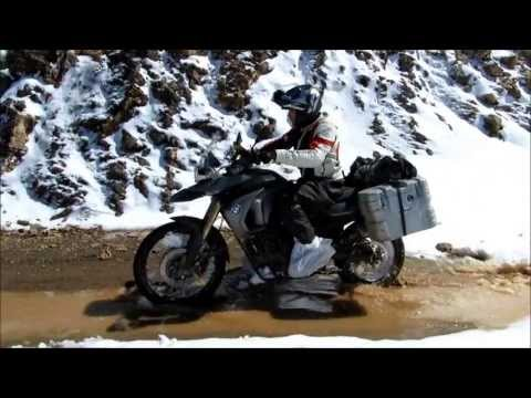 Morocco High Atlas on BMW F800GS