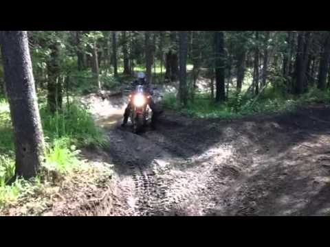 Honda NC700 X On The Trail
