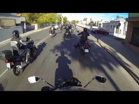 Lietuvos motociklininkų sezono uždarymas 2013 Kaunas