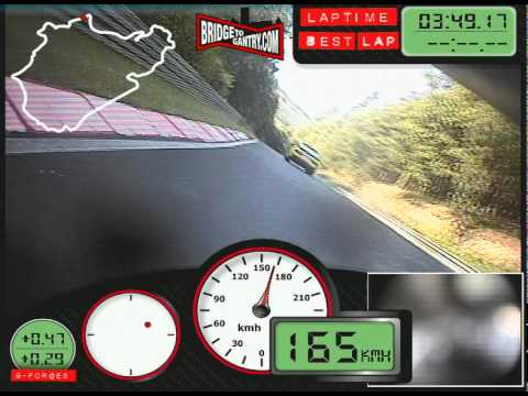 Fastest bike or motorcycle lap of the Nurburgring Nordschleife on video? 7m26s BTG Yamaha R1