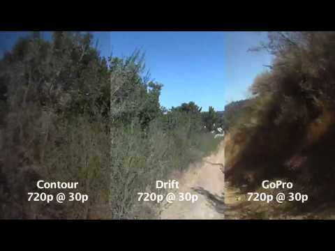 Comparison Drift HD170 vs Contour HD vs GoPro HD | Action Cameras South Africa