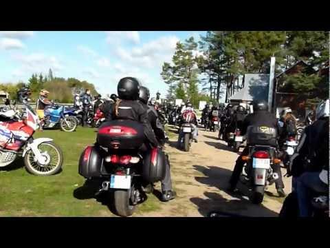 Baikeriu sezono uzdarymas 2011 Pajudejimas nuo Pusynelis i Vingio parka