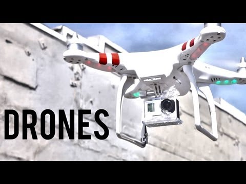 DRONE SHOTS and the Phantom Quadcopter