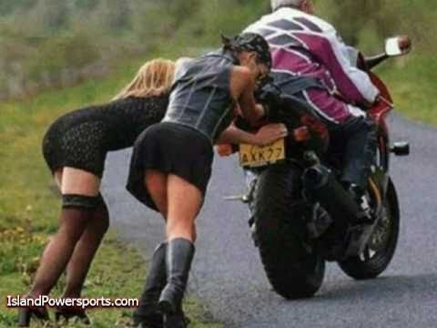 Women on Motorcycles!