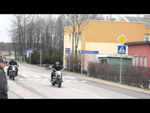 Moto sezono atidarymas Gargzdai 2013.04.27