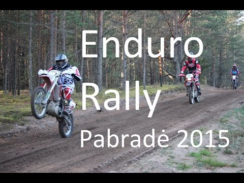 Enduro Rally Pabrade 2015 INTRO