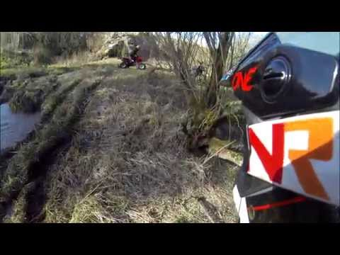 GoPro: Enduro ride on Easter, Lithuania 2015