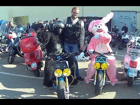 Baikeriu sezono uzdarymas 2015, Bikers season closing in Vilnius