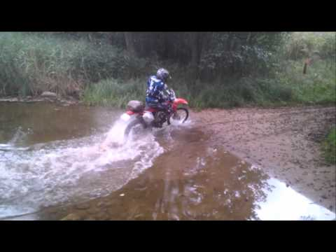 Dirt bike riding in Lithuania