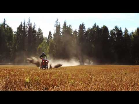 Tank Slapper Save - KTM 450 EXC