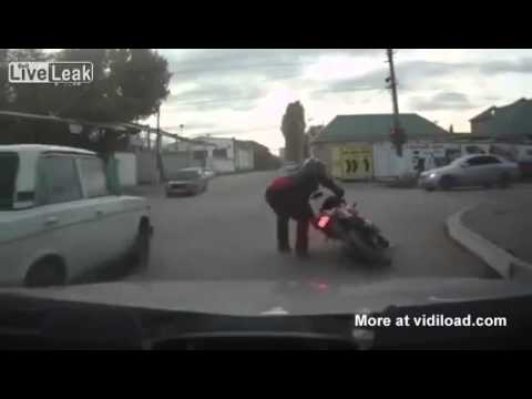 Drunk Driving On A Motorcycle