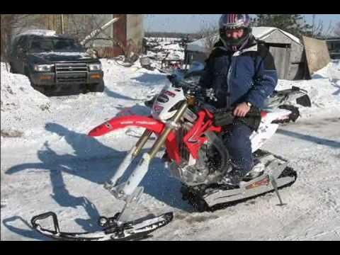 AD Boivin Snow Trax conversion kit demo day