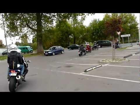 Baikeriu sezono uzdarymas 2011 Pajudejimas nuo Lukoil - Pusynelis