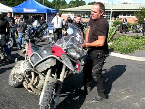How not to pick up a GS1200 Adventure