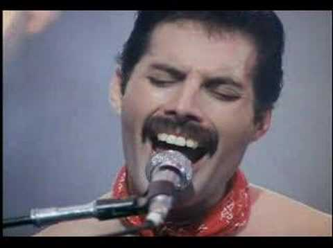 Queen - We are the champions, live
