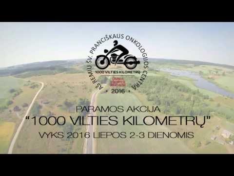 """Motociklininkų paramos akcija """"1000 vilties kilometrų"""" 2016"""