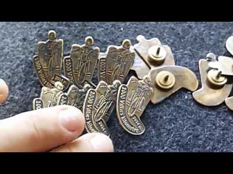 BRASS Pin for Oncological center support campaign